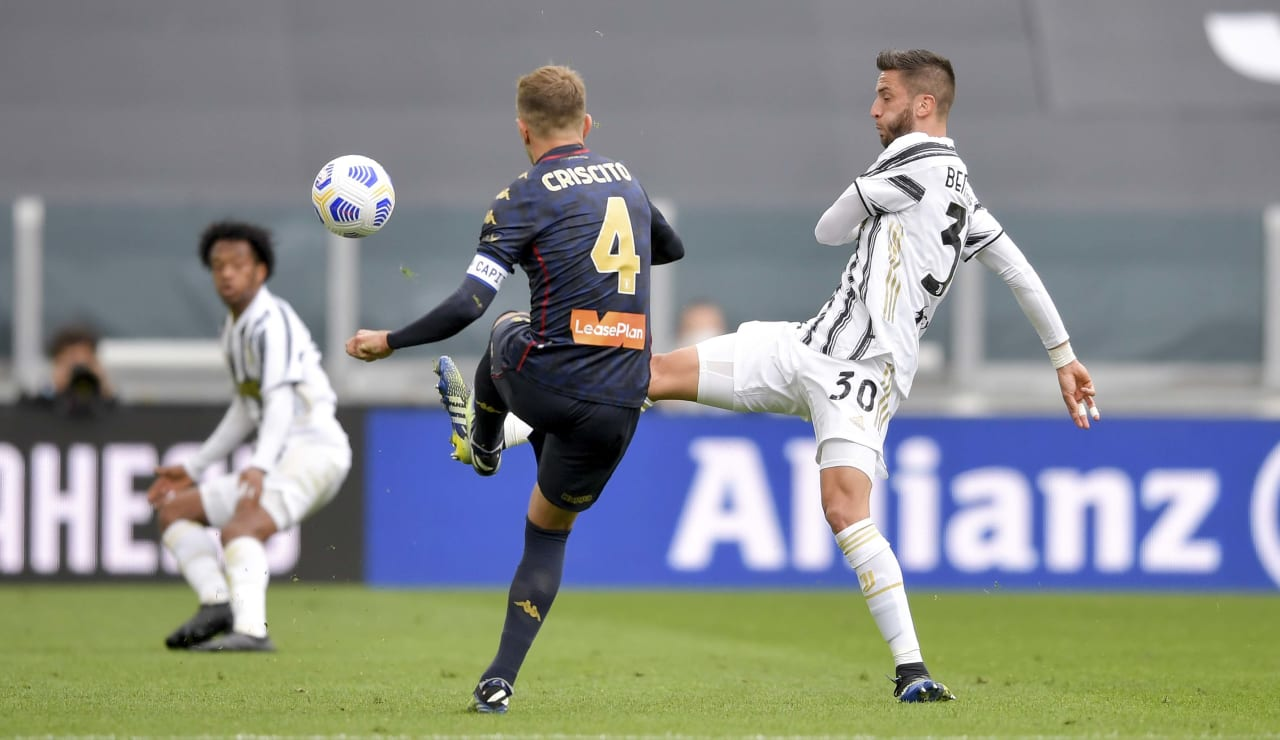 12 Juventus Genoa 11 aprile 2021