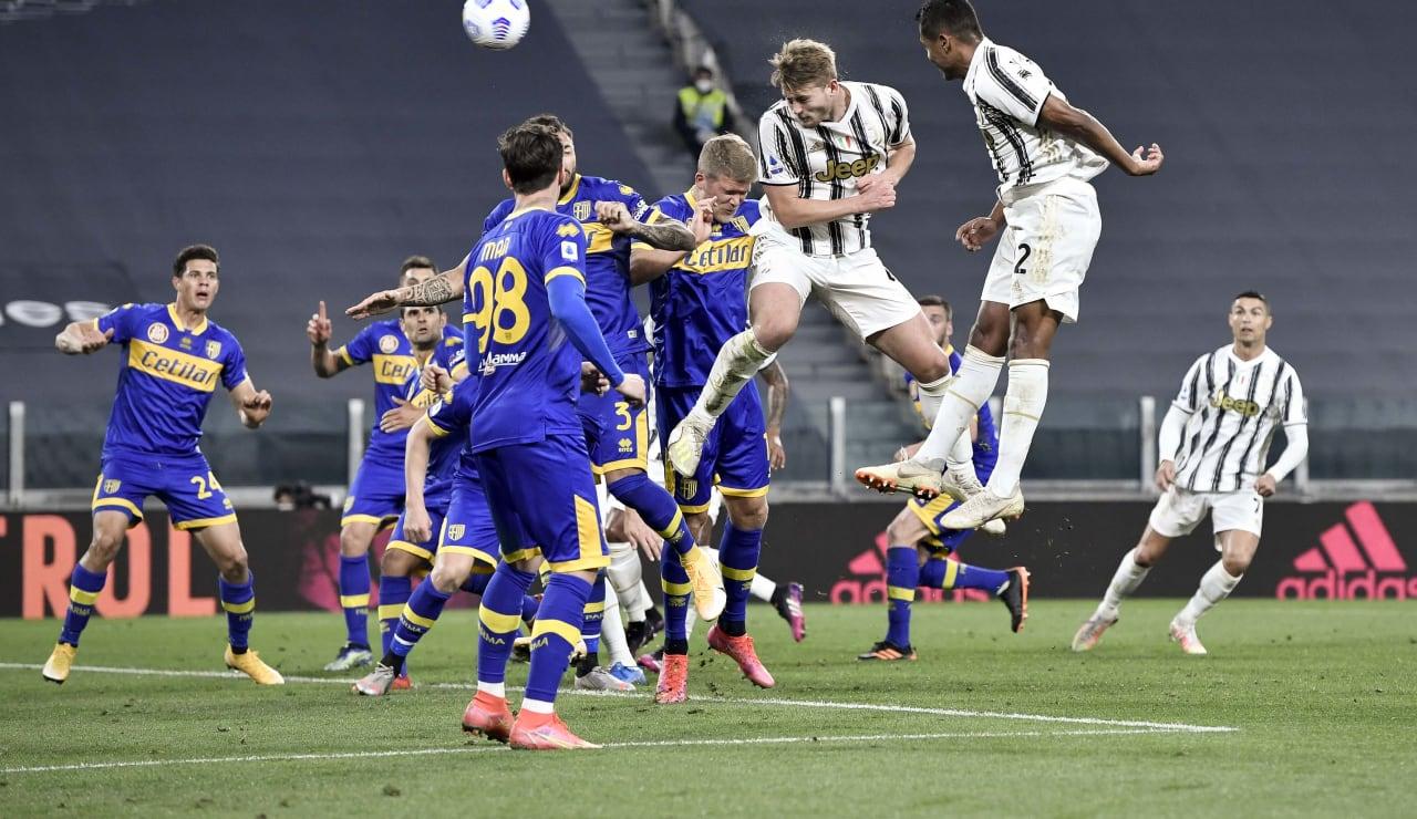16 Juventus Parma 21 aprile 2021
