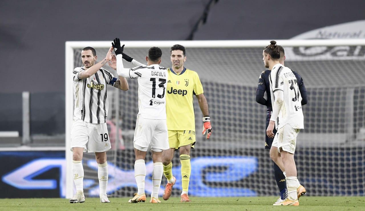 17 Juventus Genoa 13 gennaio 2021