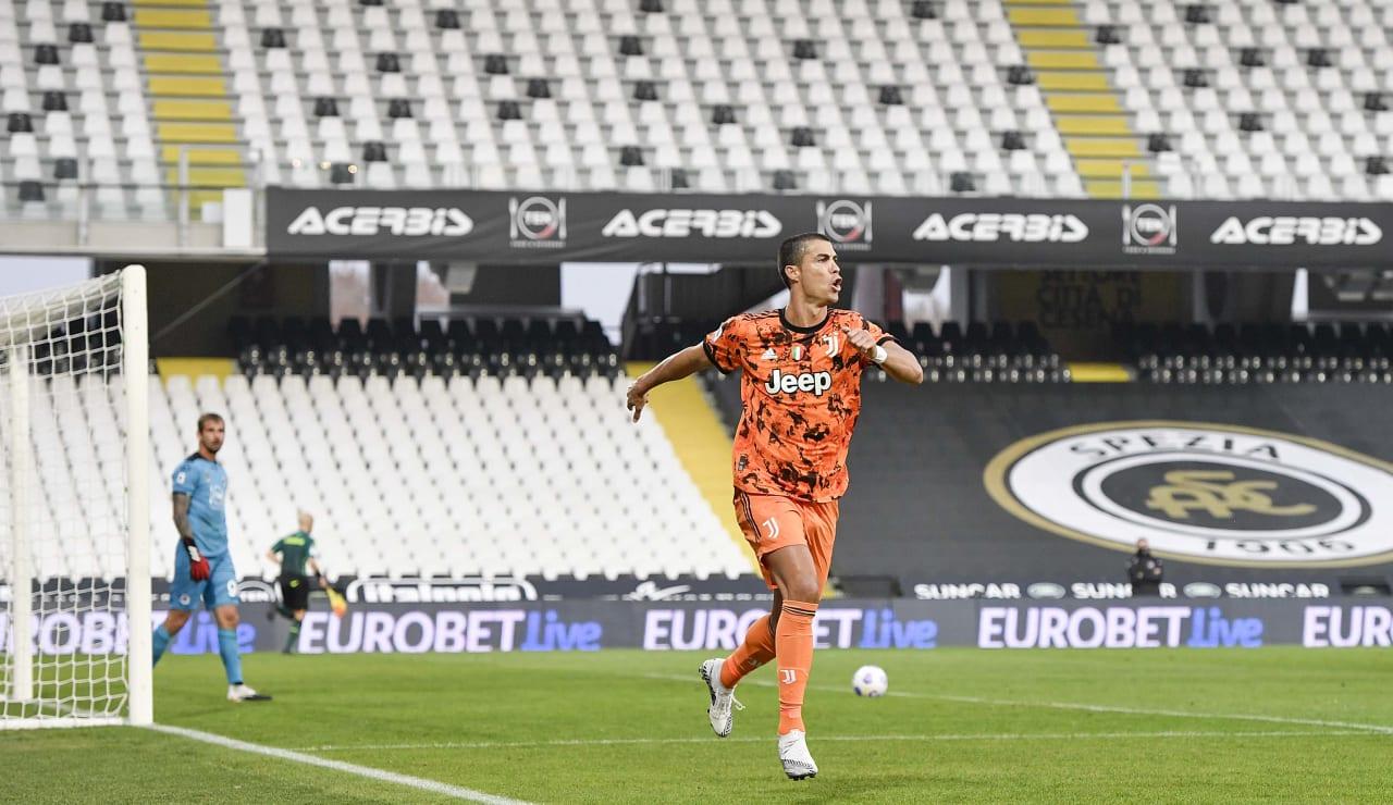 16 Spezia Juventus 1 novembre 2020