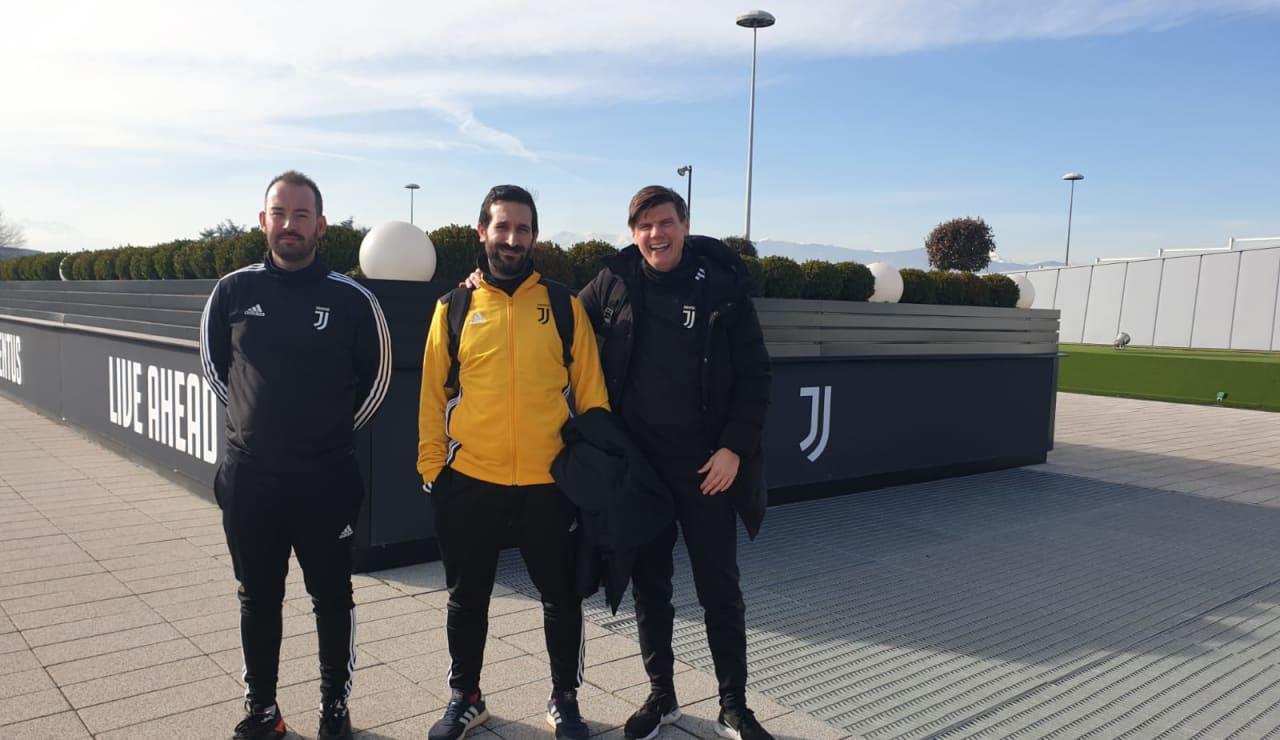 Coaches at Training Ground