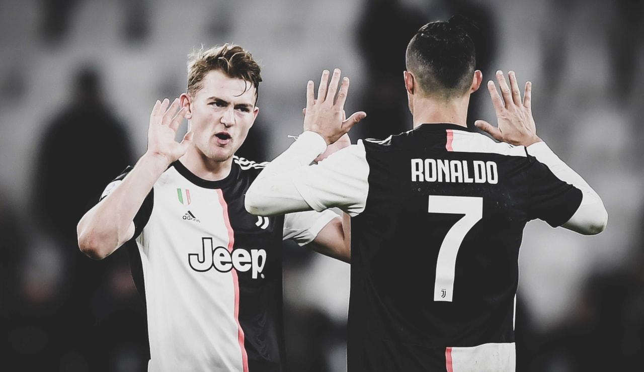 Stronger Scudetto Esultanze 4 de ligt Ronaldo