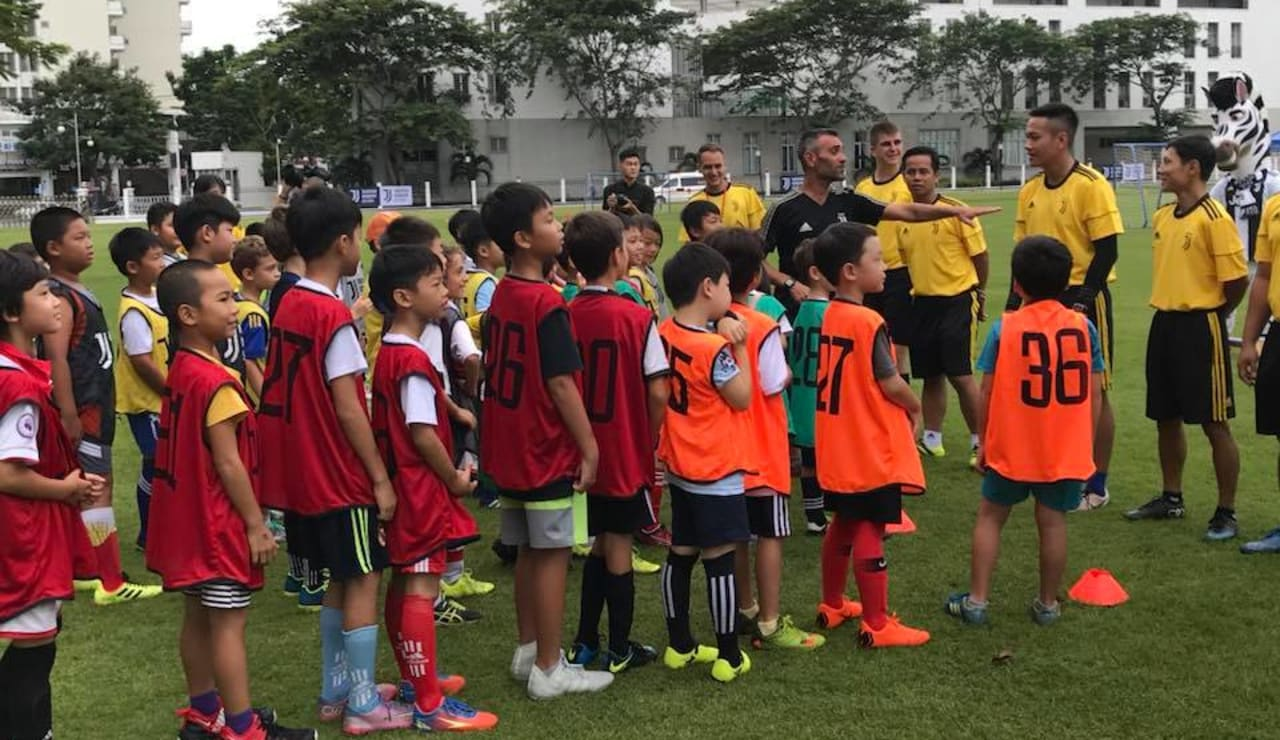 Juventus Youth Recreation (JYR) Open Day with Juventus FC Legend David Trezeguet & Official Mascot Jay