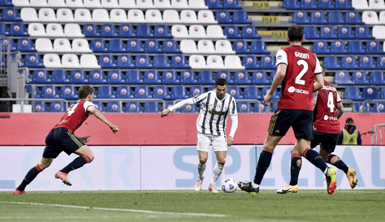 13 Cagliari Juve 14 marzo 2021
