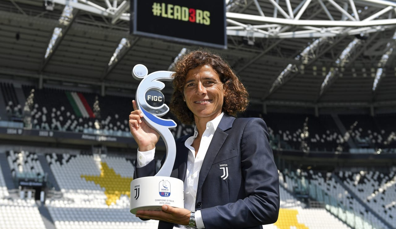 SCUDETTO WOMEN CONSEGNA ALLIANZ STADIUM_F1A1438