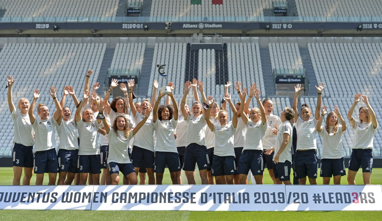 SCUDETTO WOMEN CONSEGNA ALLIANZ STADIUM_F2A3275