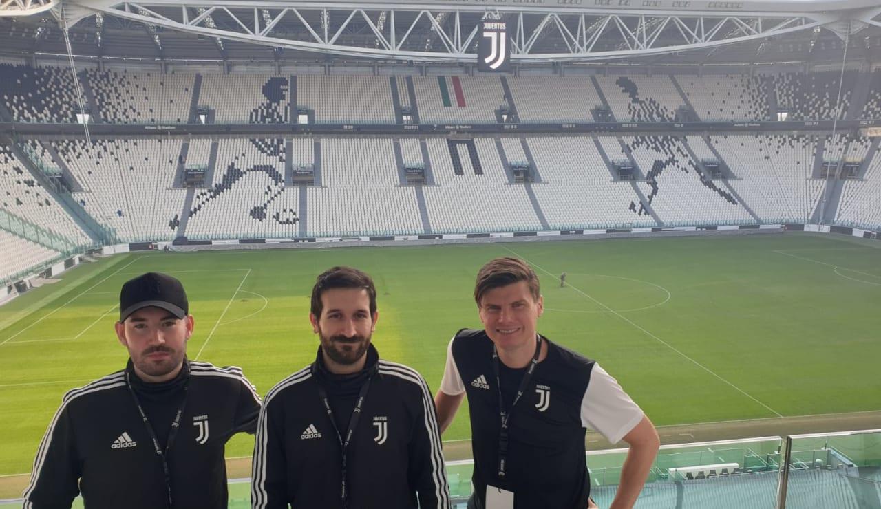 Coaches at Juventus Stadium