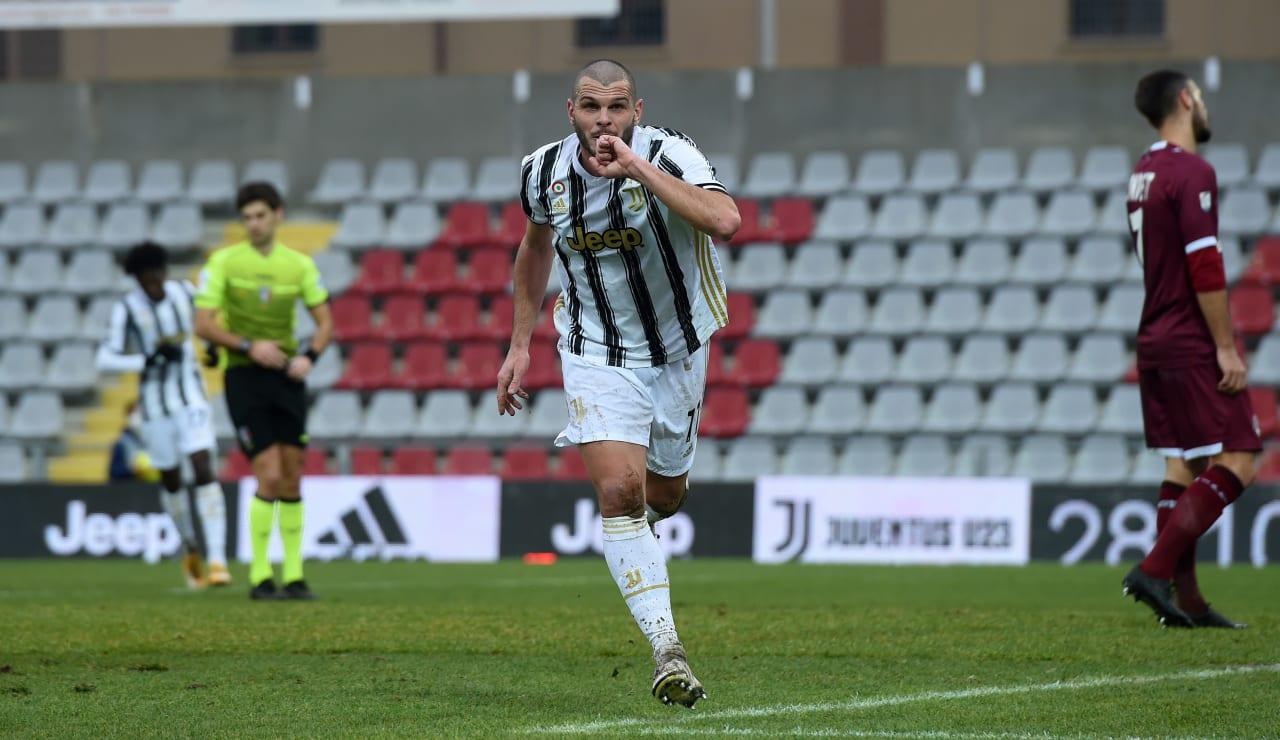 Andrea Brighenti Juventus U23-Livorno