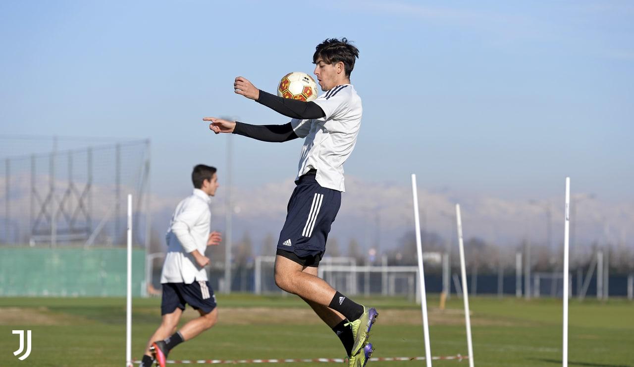 Gallery   Under 23, allenamento con vista Pontedera - Juventus