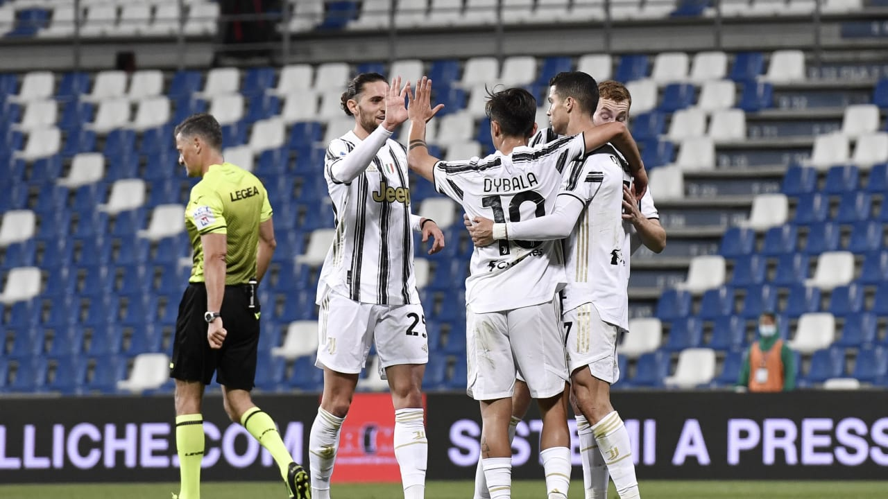 Three points for Juve against Sassuolo - Juventus