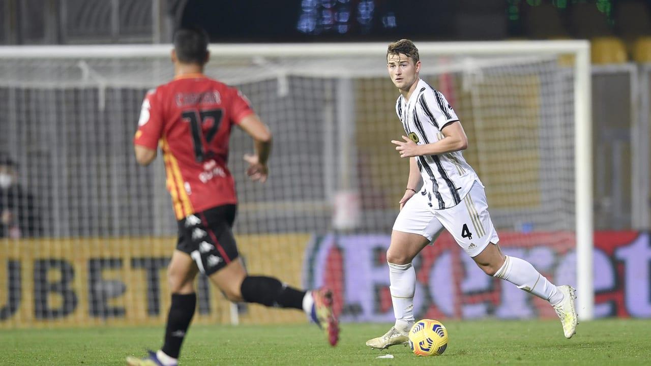 1-1 a Benevento - Juventus