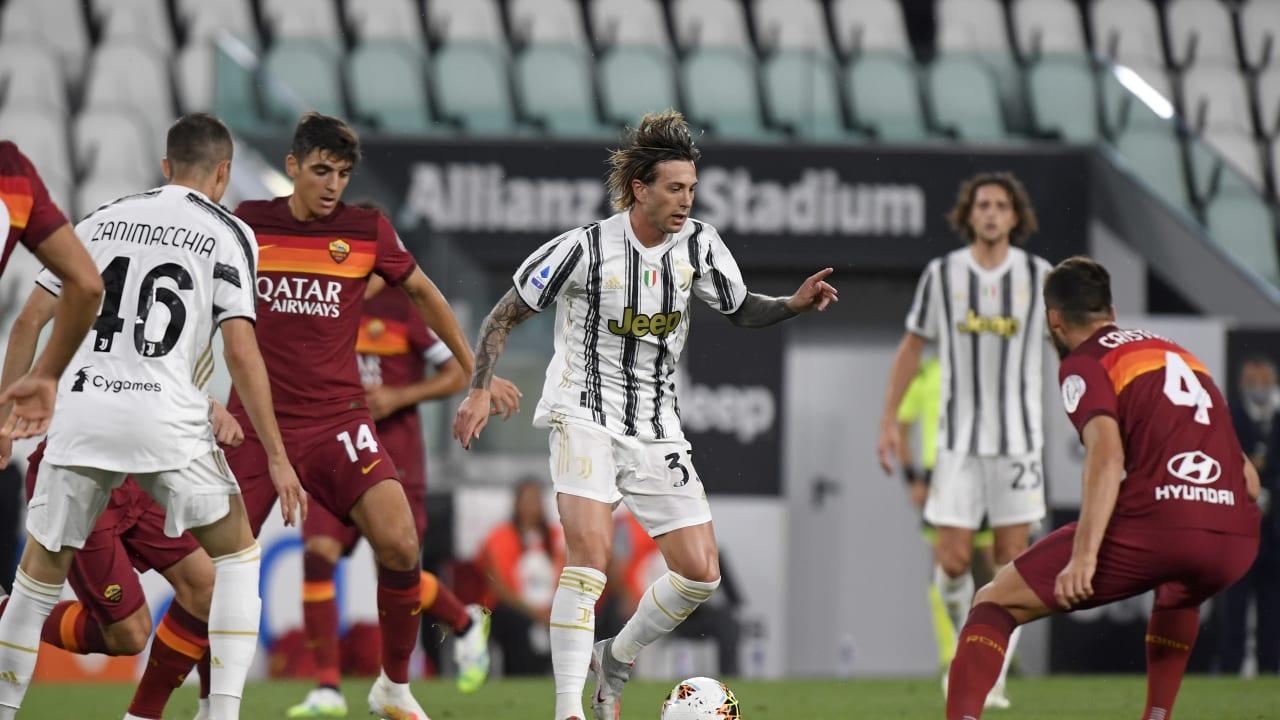 Champions Juve Fall To Roma Juventus