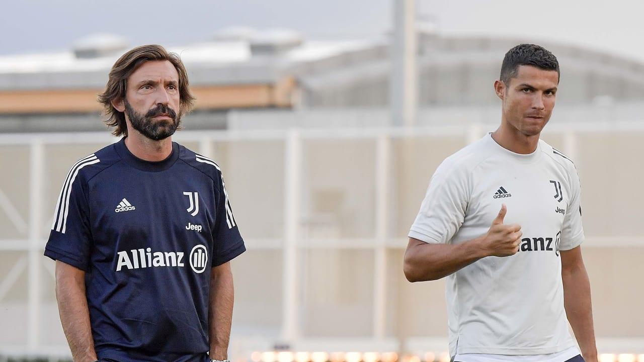 Il primo allenamento della stagione - Juventus