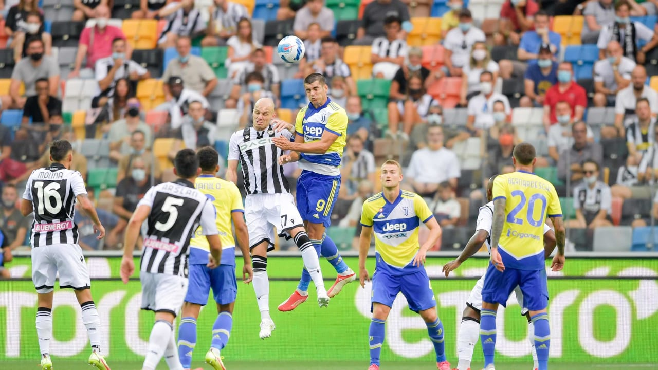 Juventus draw 2-2 with Udinese