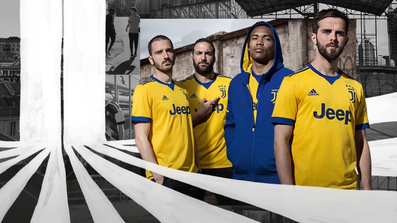 Juve unveil 2017/18 Away Kit - Juventus