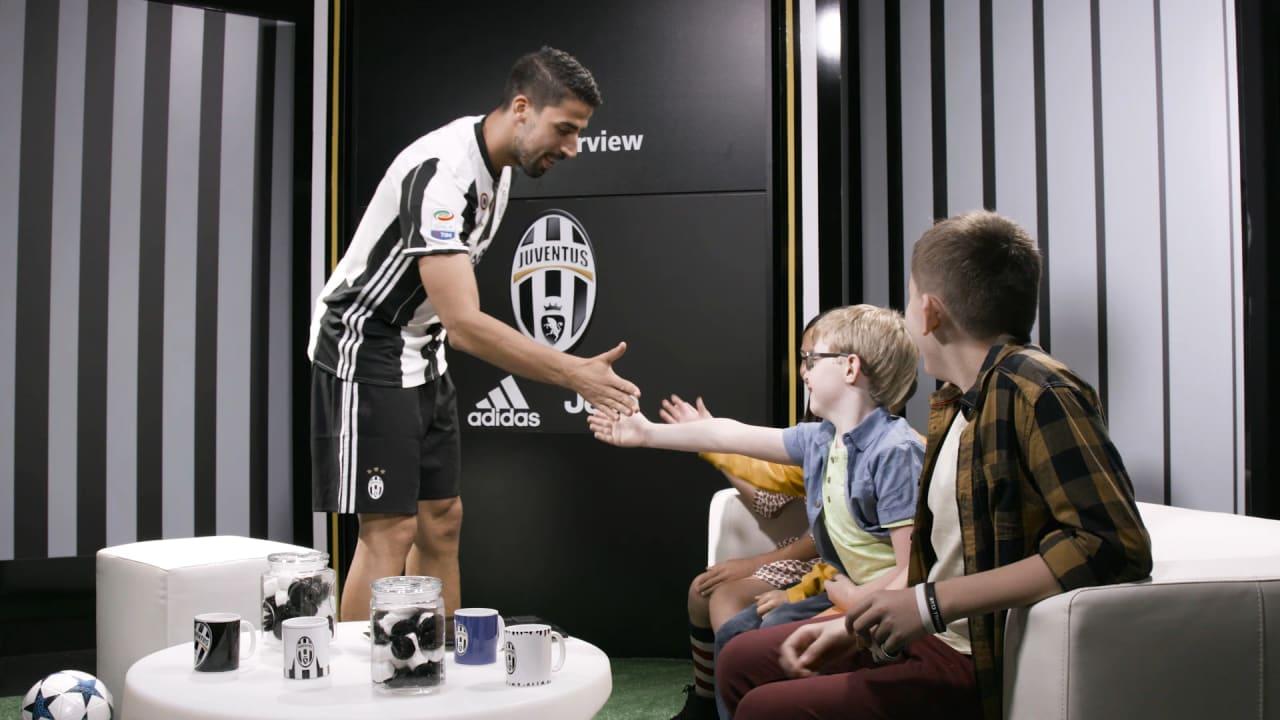 Usa Tour Sami Khedira Kids Interview Juventus Tv