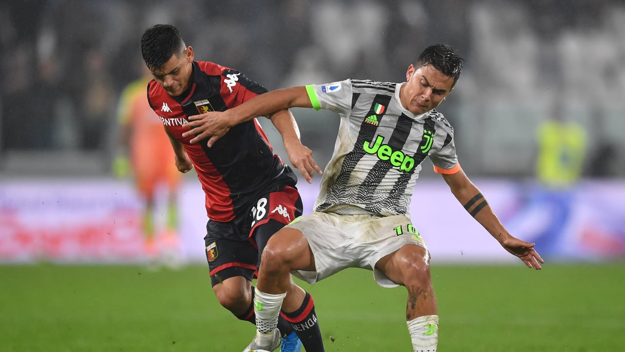 Dybala vs Genoa