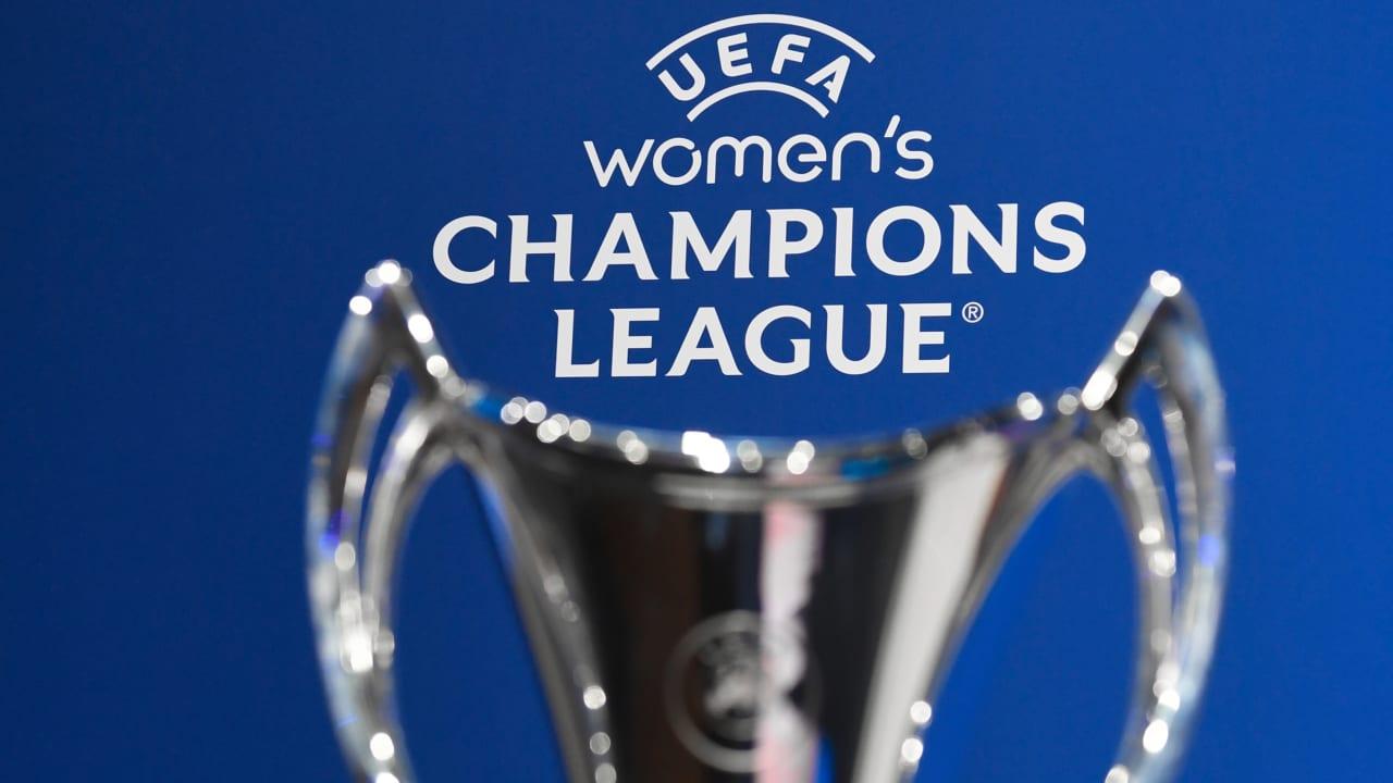 UEFA Women's Champions League 202122 Round 1 Draw