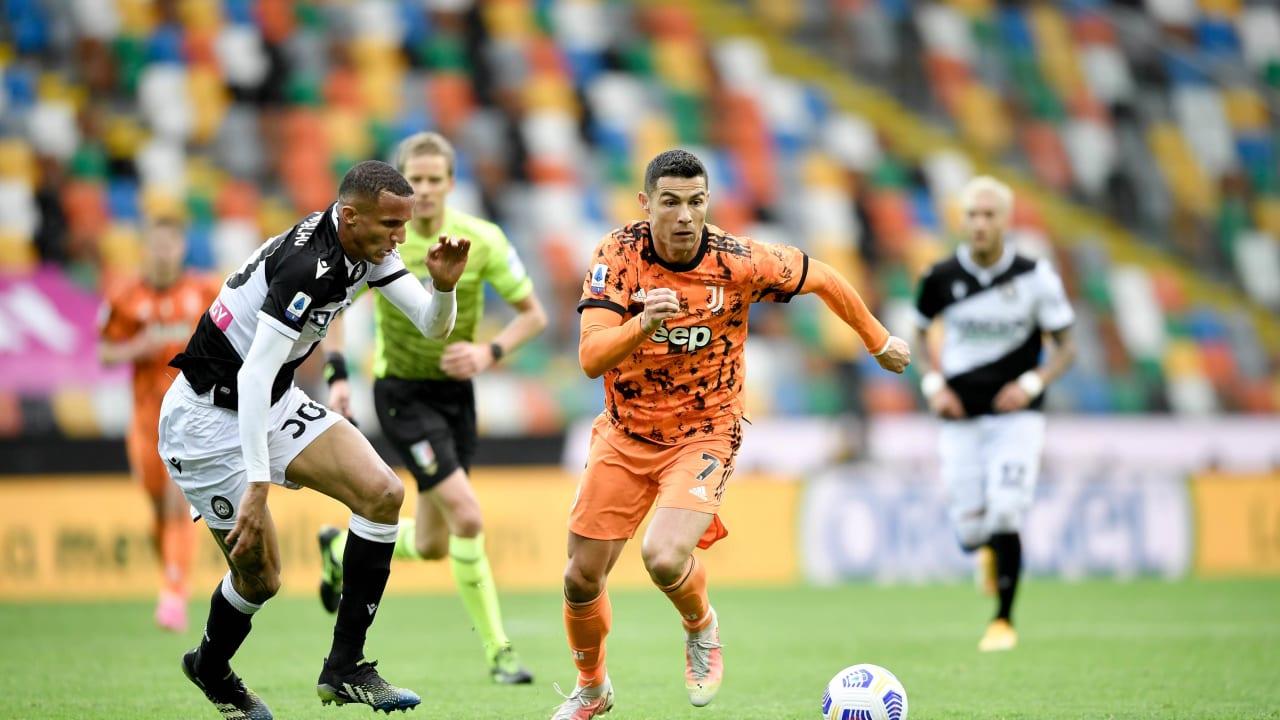 Match 01 Udinese Juventus 2 maggio 2021