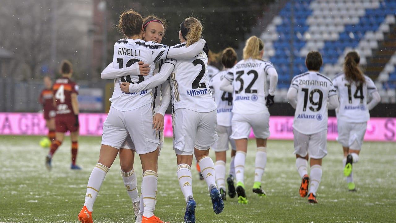 Women - Semifinale Supercoppa Italiana - esultanza