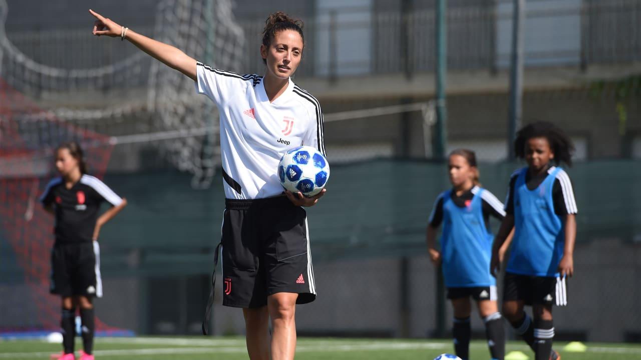 Silvia Piccini Juventus Women Under 11 Training Session