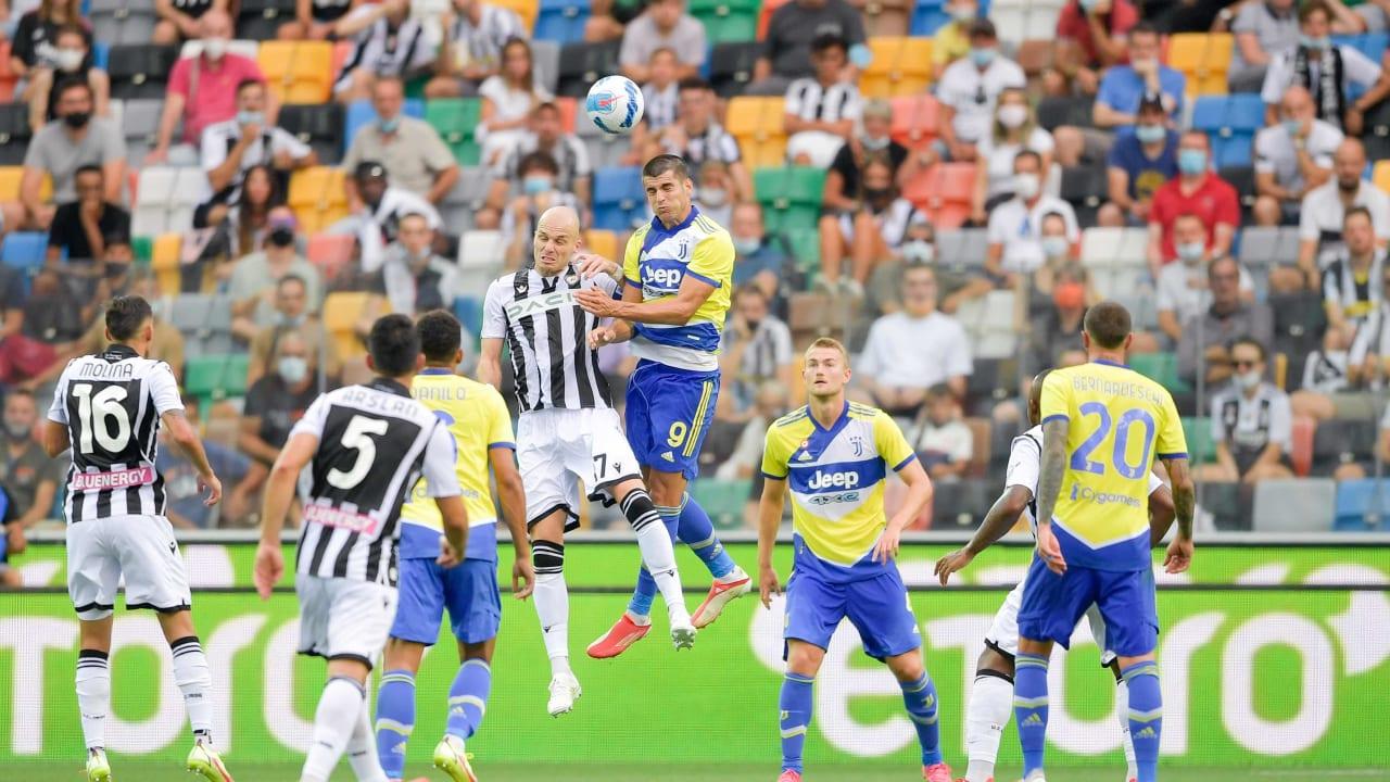 Match Udinese Juventus 22 agosto 2021
