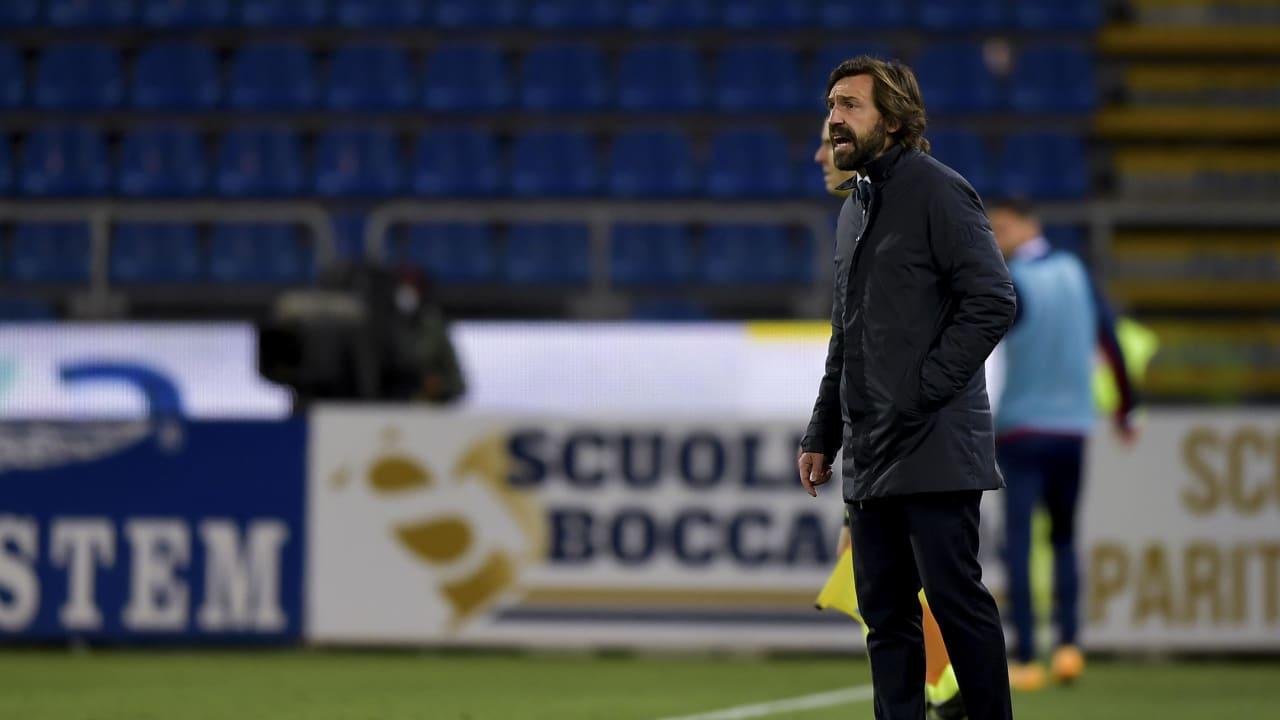 Pirlo Cagliari Juventus 14 marzo 2021