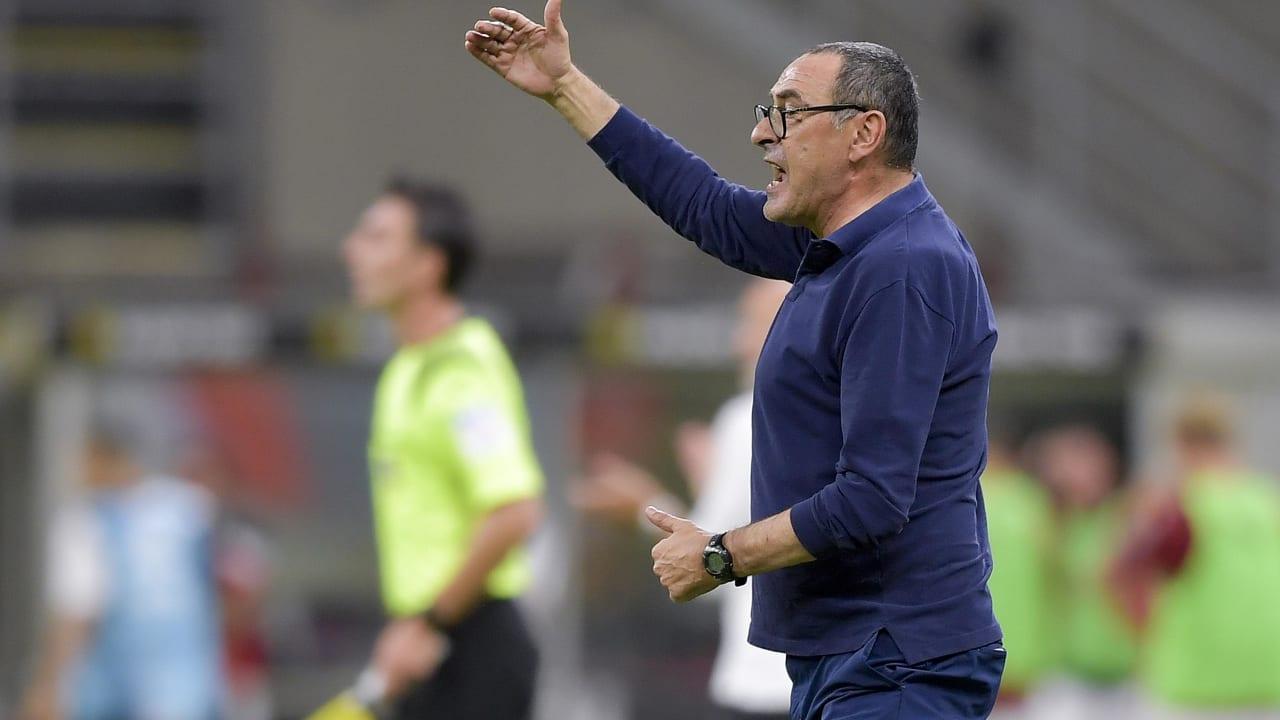 Sarri Milan Juventus 7 luglio 2020