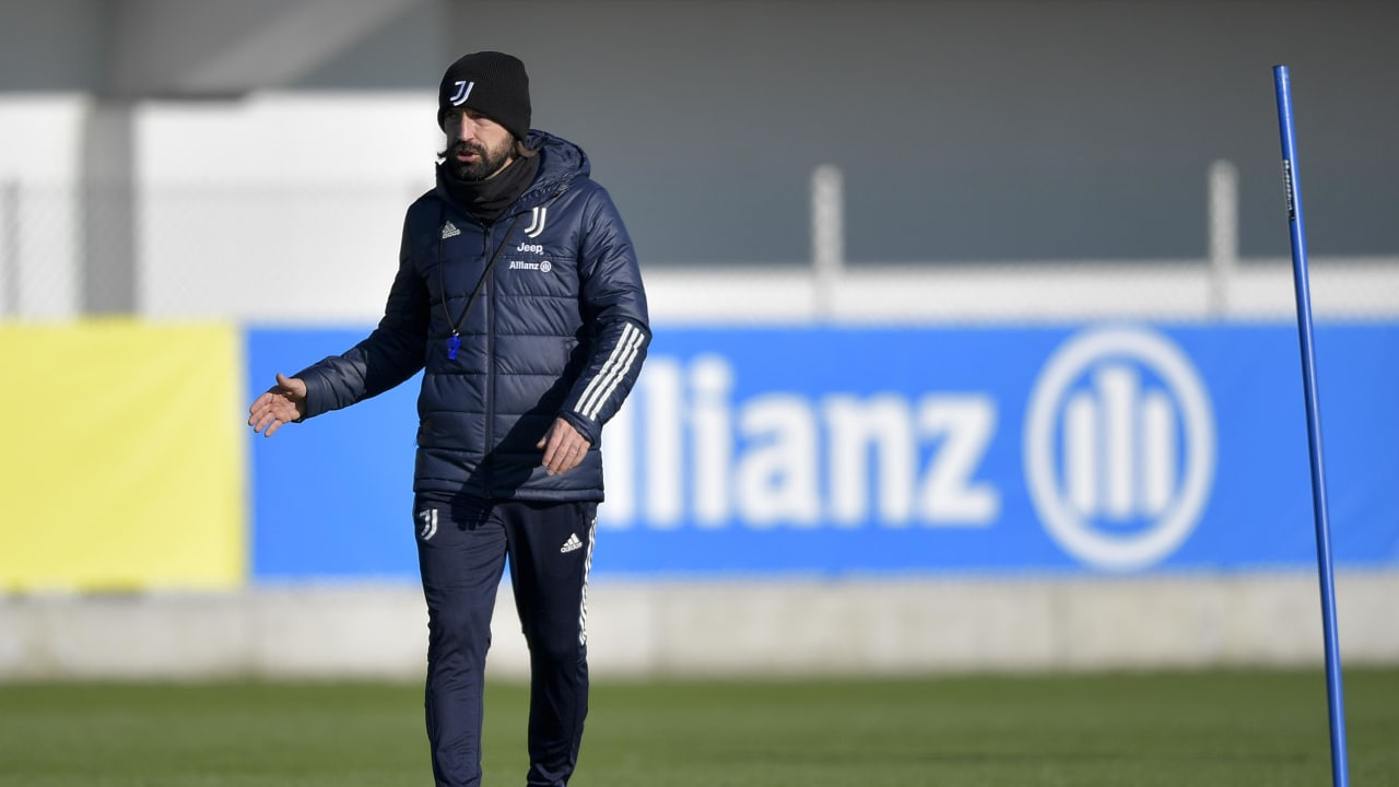 Mister Pirlo training