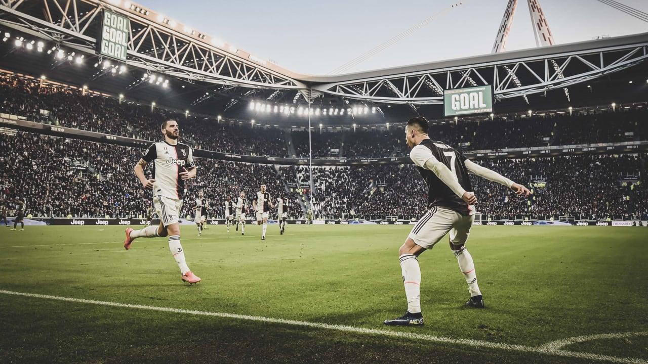 Stronger Scudetto Esultanze 13 Bonucci Ronaldo