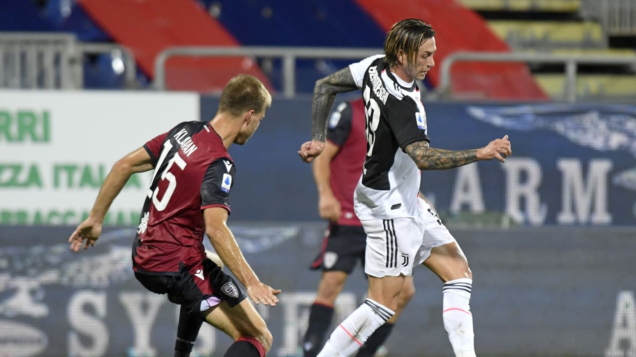 Match Cagliari Juventus