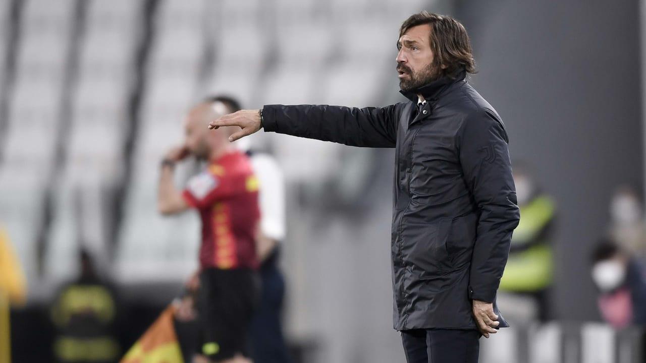 Pirlo Juventus Parma 21 aprile 2021
