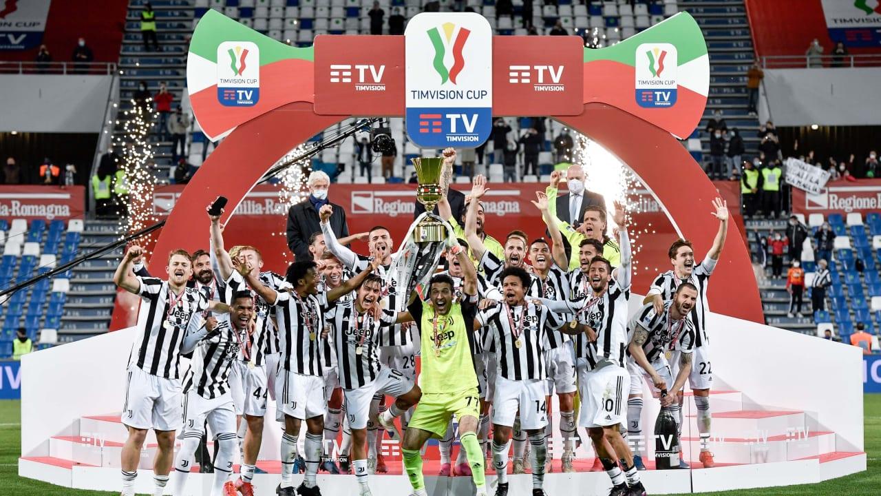 Alzata Coppa Italia 19 maggio 2021 Atalanta Juventus