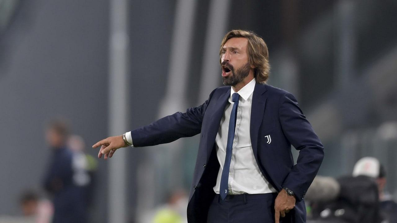Pirlo Juventus Sampdoria 20 settembre 2020