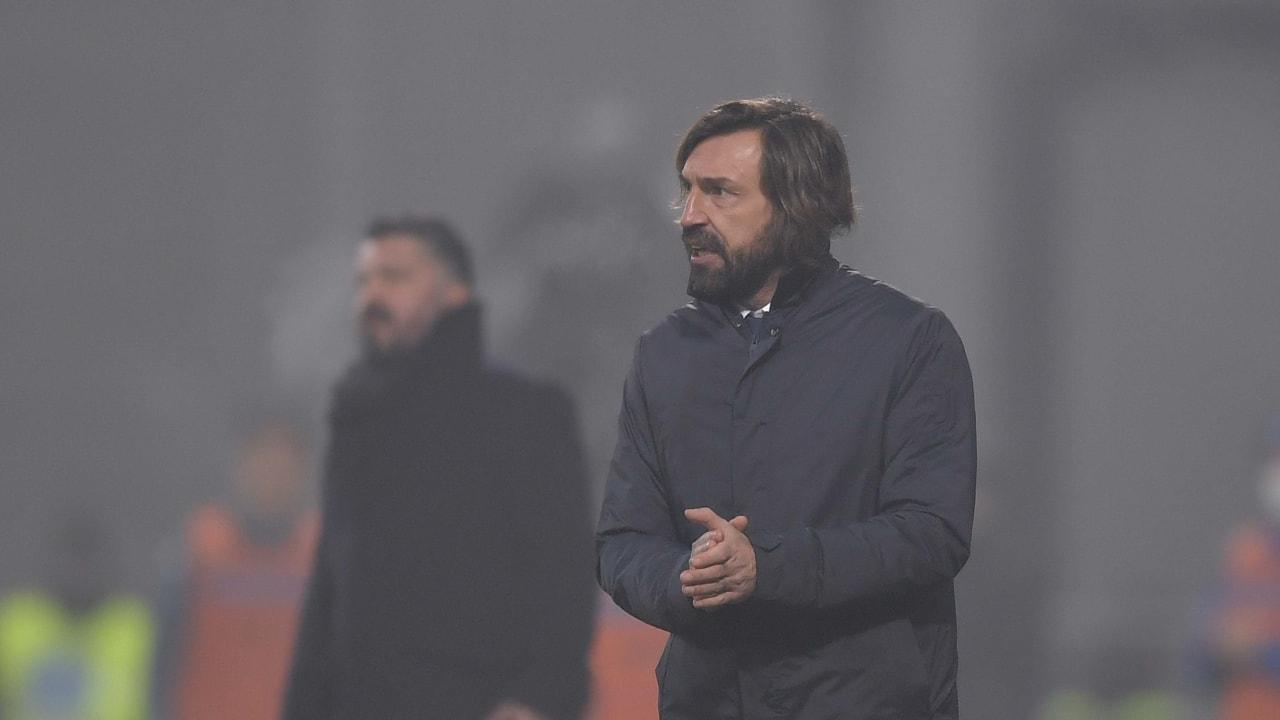 Pirlo Juventus Napoli Supercoppa 20 gennaio 2021