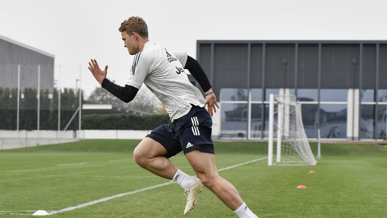 de ligt training
