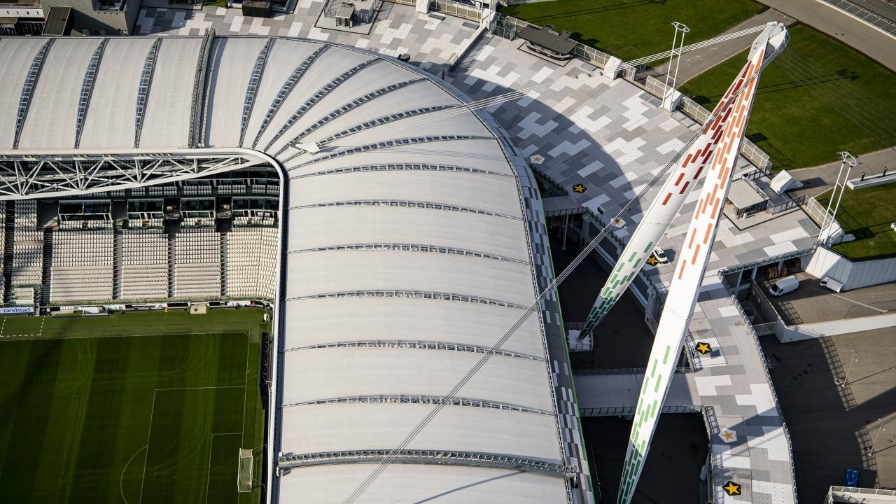 Allianz Stadium and JTC Aerial Views