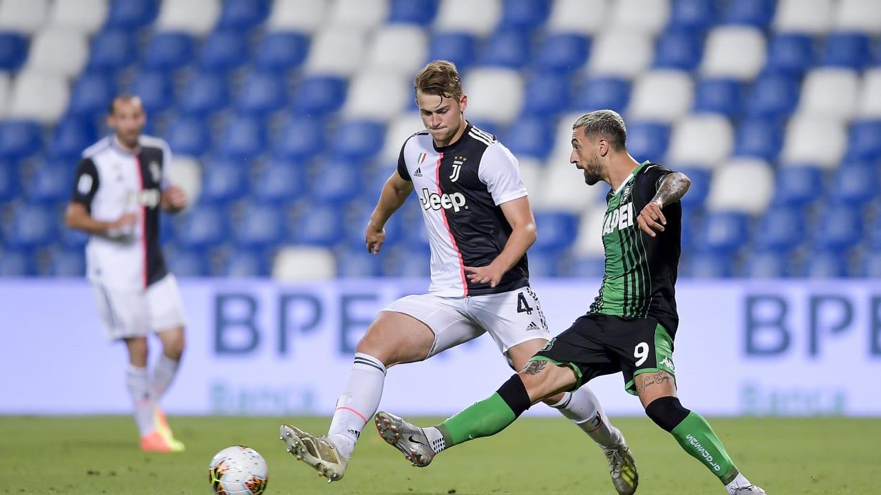 Sassuolo Juve Match 15 luglio 2020