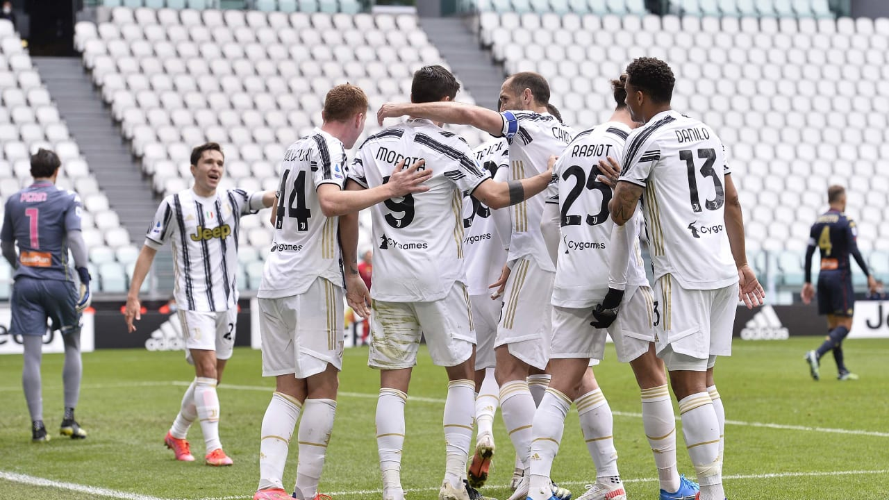 Match Juventus Genoa 11 aprile 2021