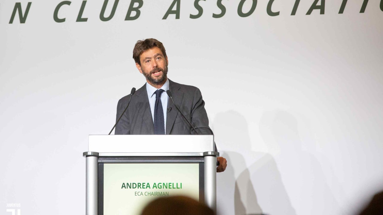 Andrea Agnelli re-elected as President of the ECA - Juventus