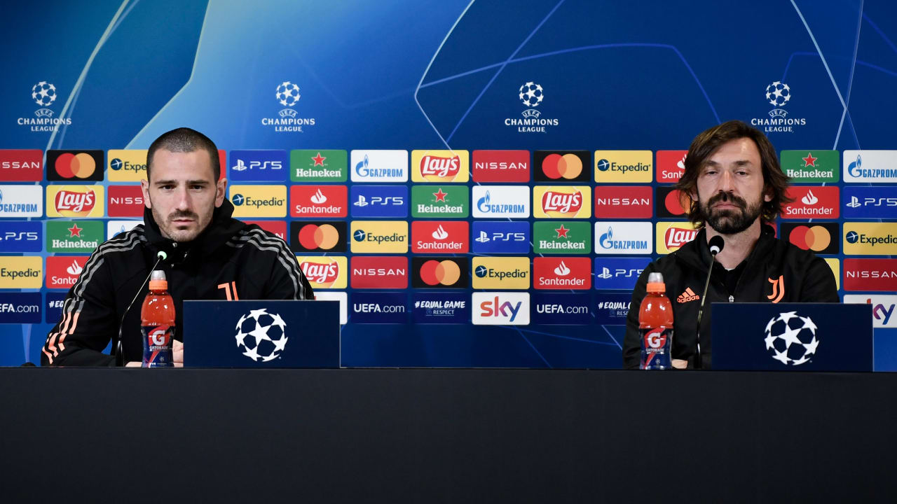 Press conference Juve-Porto (1)