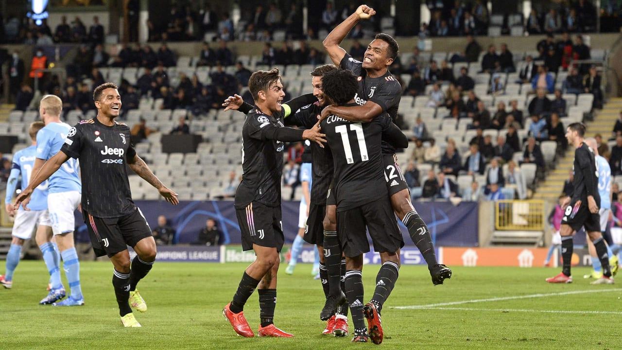 Match Malmö Juventus 14 settembre 2021