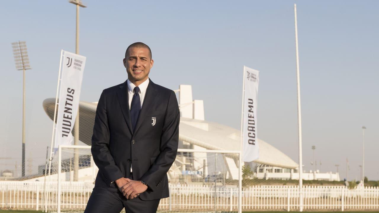 David Trezeguet launches Juventus Academy at Abu Dhabi Cricket.jpg