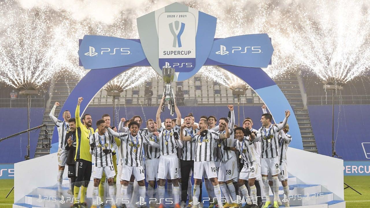Ps5 Supercoppa Italiana Juventus Napoli Juventus Tv