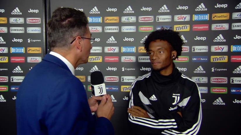 Juventus - Bologna | Cuadrado: «Una bella prestazione di squadra»