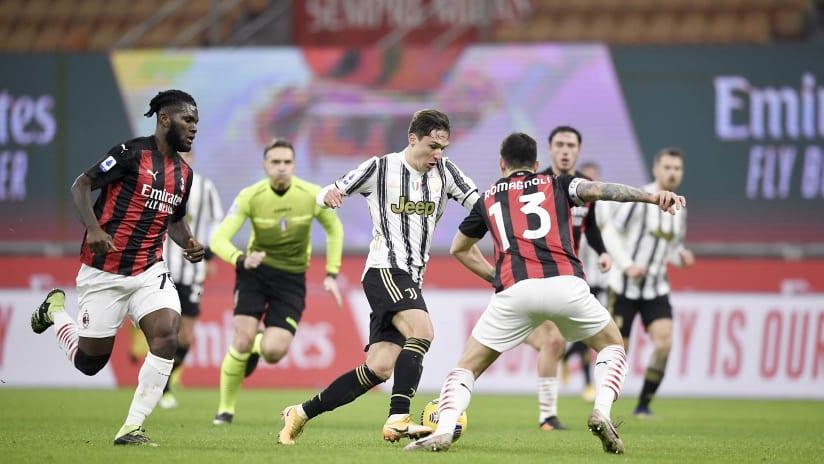 Pitchside view | Matchweek 16 | Milan - Juventus