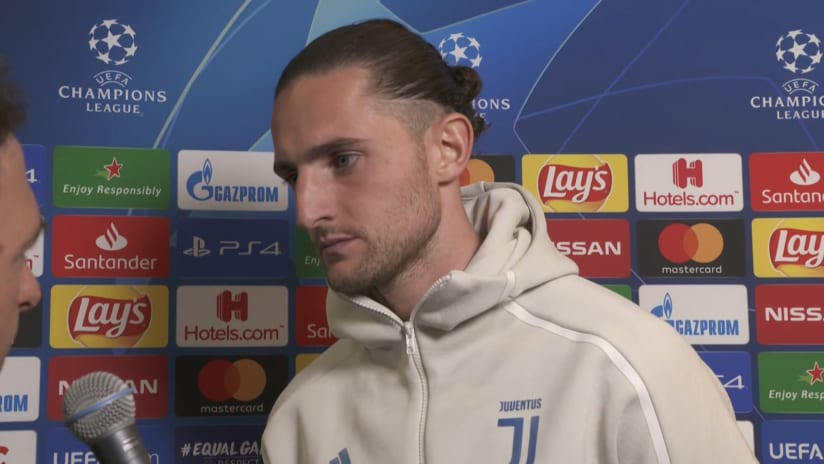 Lyon - Juventus | Rabiot: «We weren't ourselves in the first half»