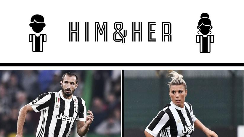 #HimAndHer Ep. 3: Sodini interviews Chiellini!
