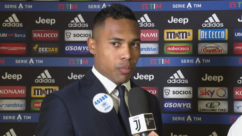 Juventus - Fiorentina | Alex Sandro: «We played a solid game»