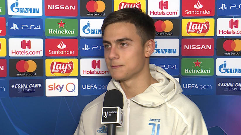 Juventus - Atletico Madrid | Dybala: «I play to make the fans happy»